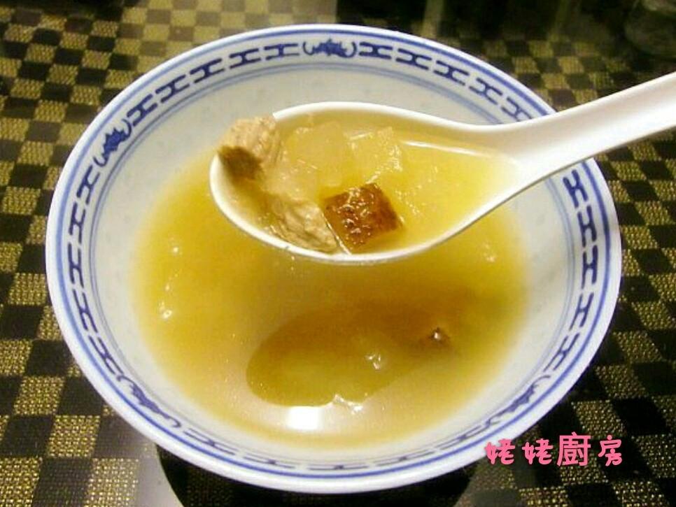 冬瓜冬菇瘦肉湯