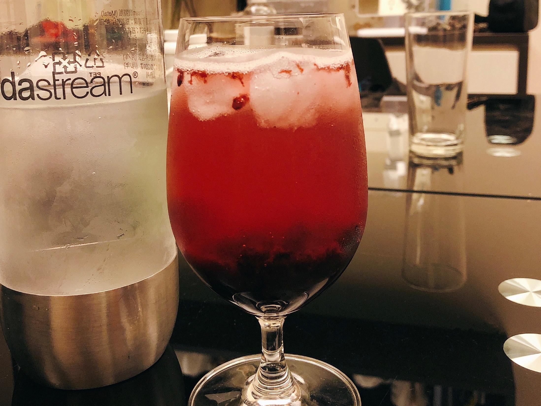 莓果蜂蜜氣泡水