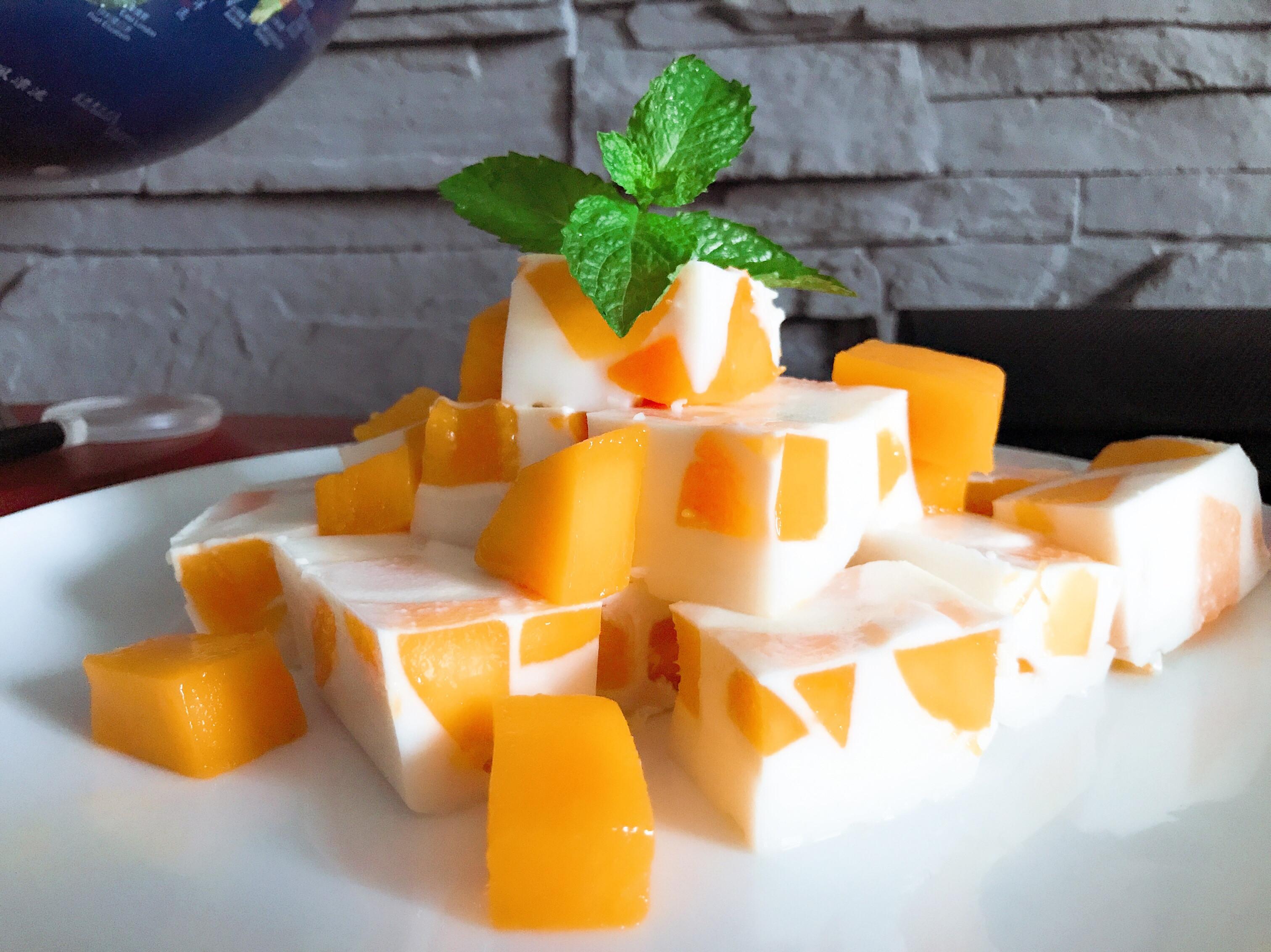 芒果椰奶凍
