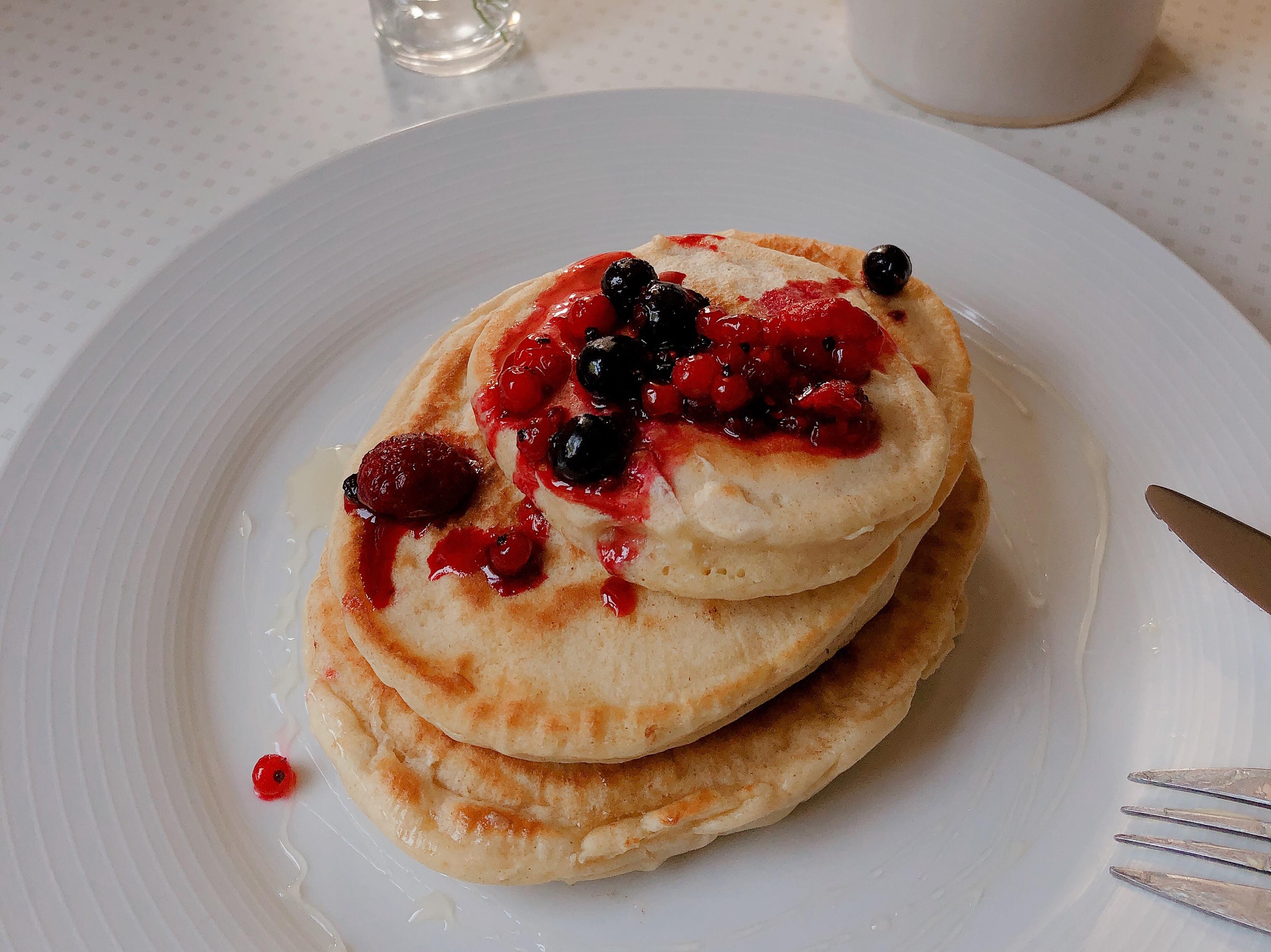 莓果美式厚鬆餅🥞