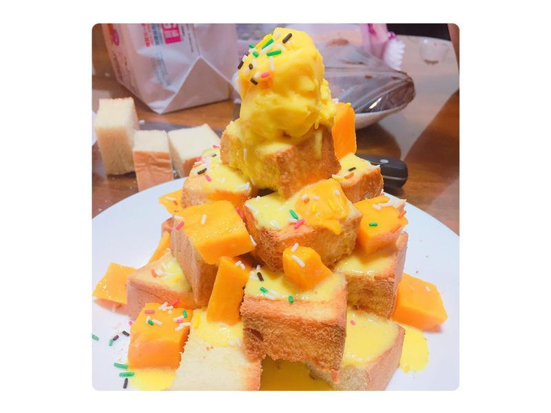 芒果蜜糖吐司🍞🥭🍯