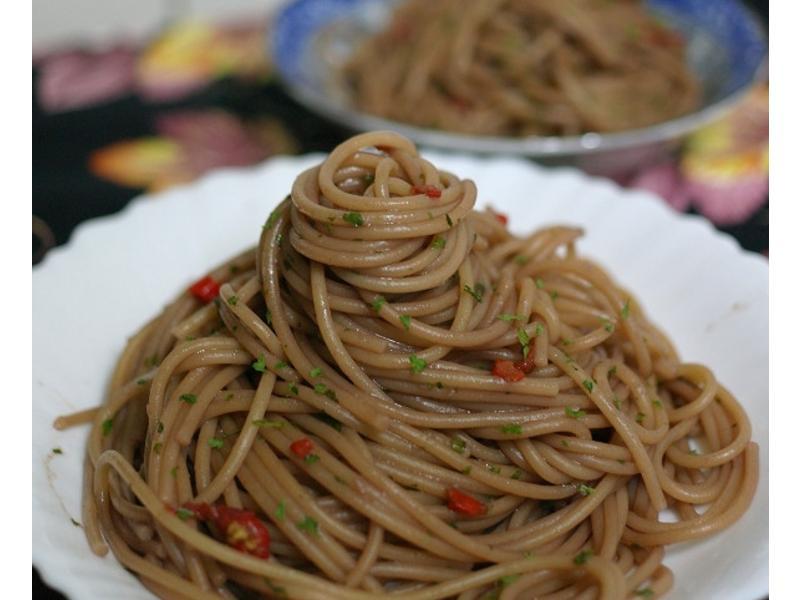 適合配肉排的 酒香義大利麵