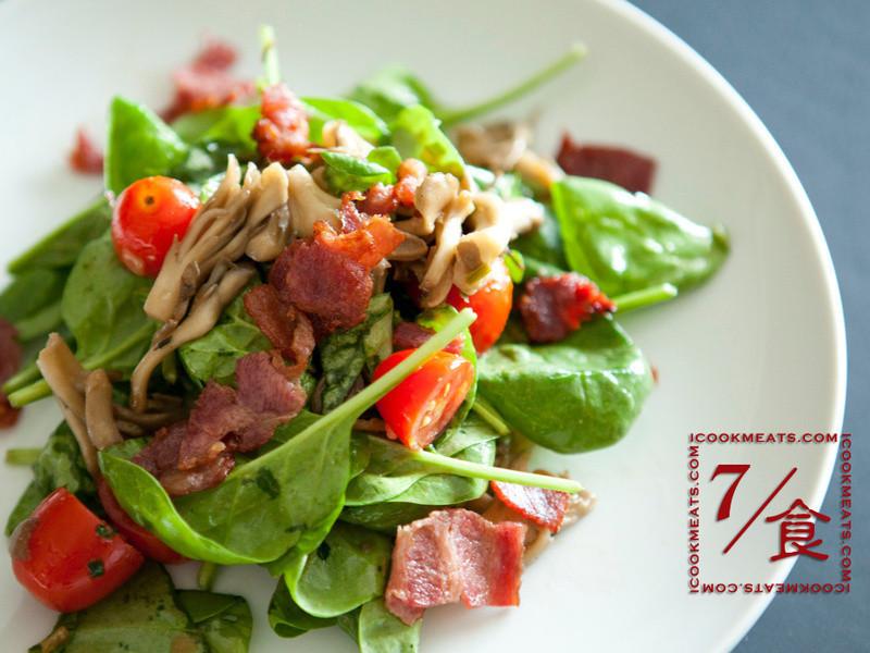 【7/食】培根菠菜沙拉