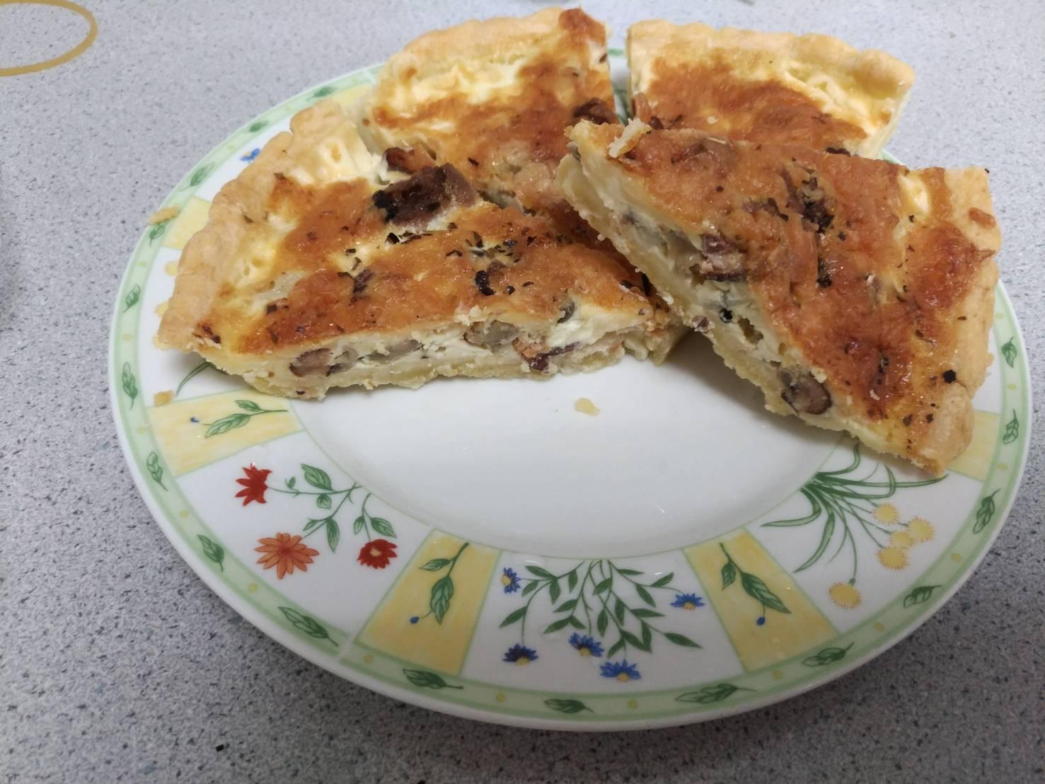 鴨賞馬鈴薯野菇鹹派