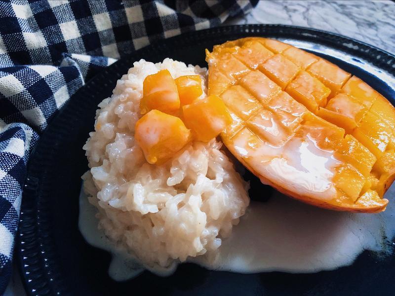 夏季獨享~泰式芒果糯米飯