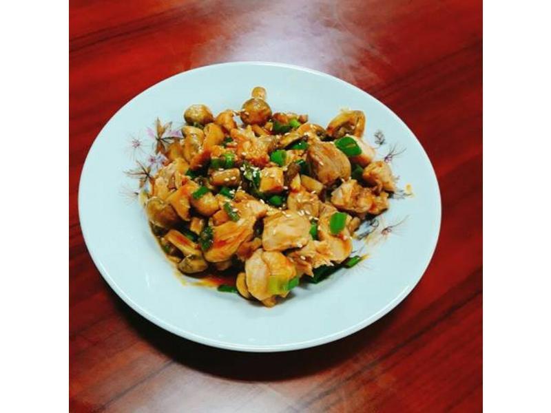 糖醋菇菇雞