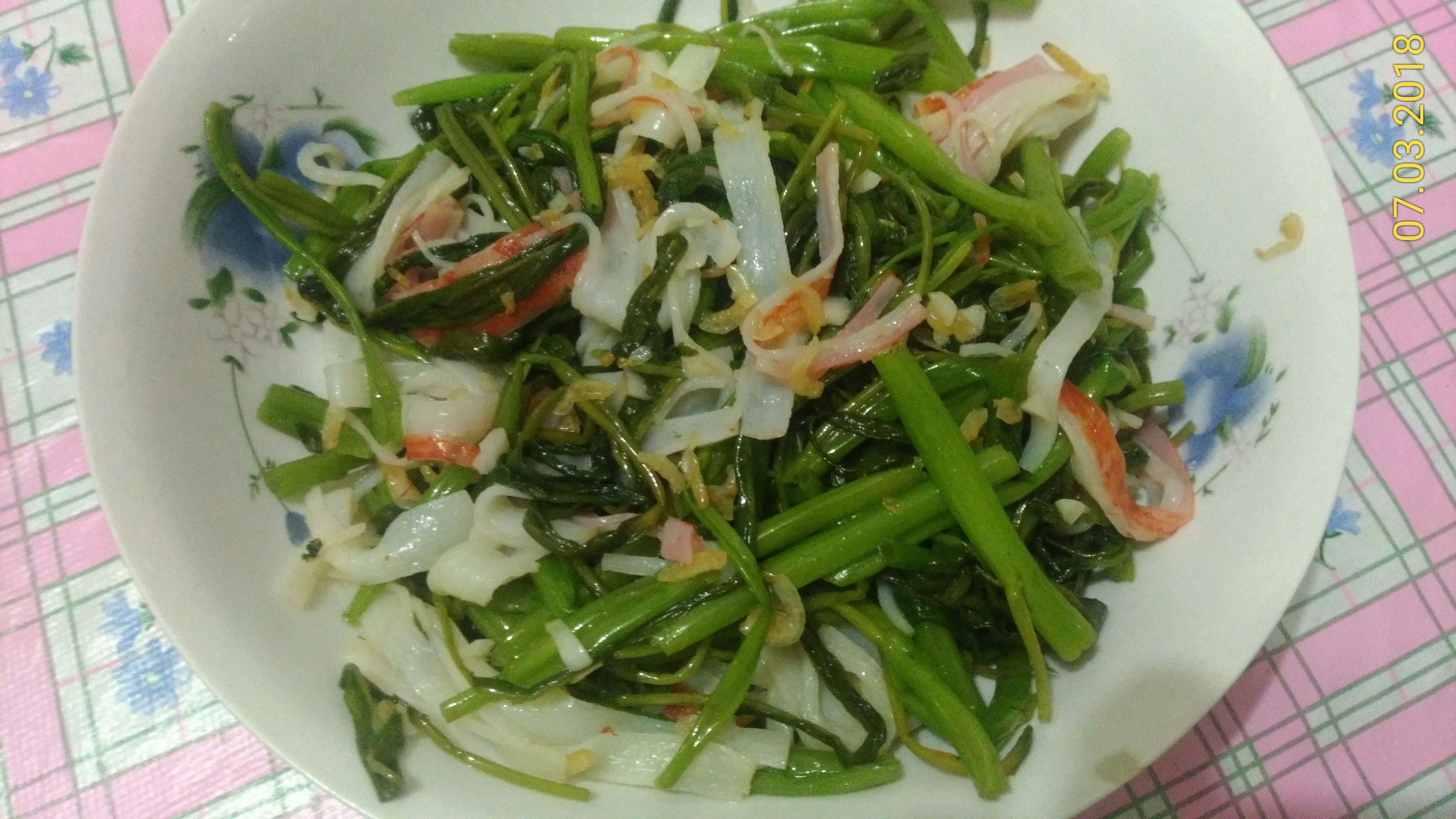 蝦皮空心菜