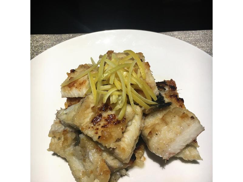 韓式柚子蜜煎鱔魚