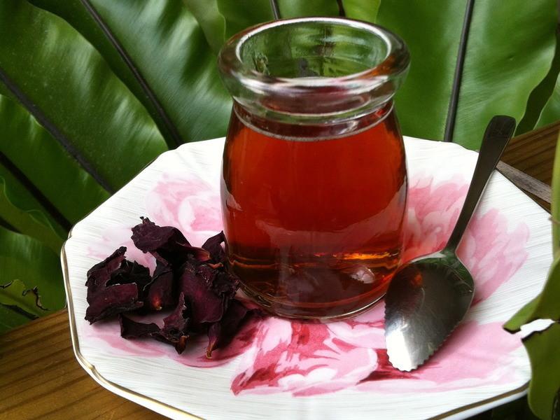 午後療癒聖品~有機玫瑰花紅茶凍
