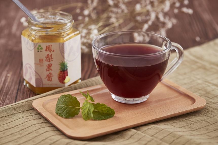 果醬熱水果茶