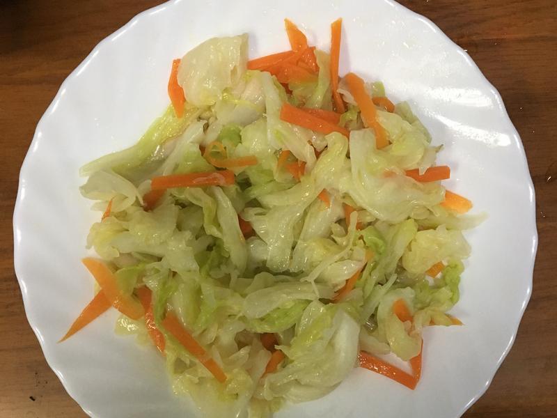 阿嬤吃の炒高麗菜