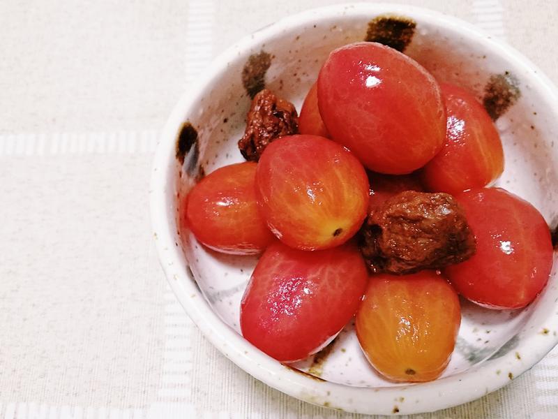 酸甜開胃《梅子番茄》