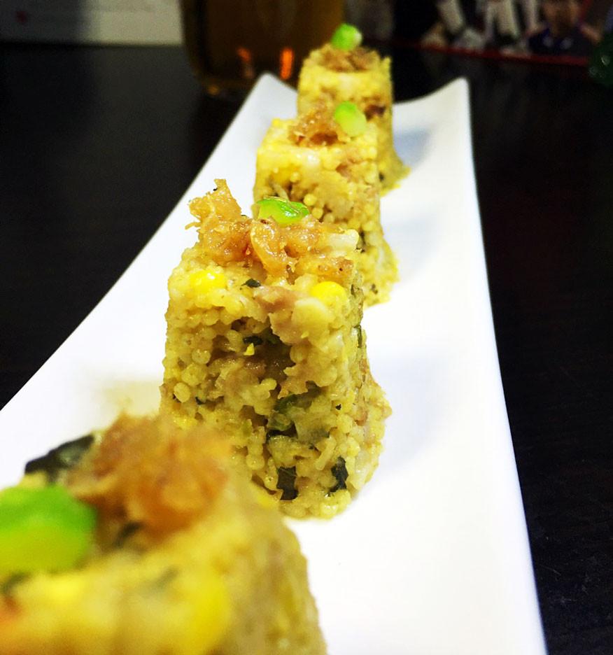 云硒黄金小米饭团