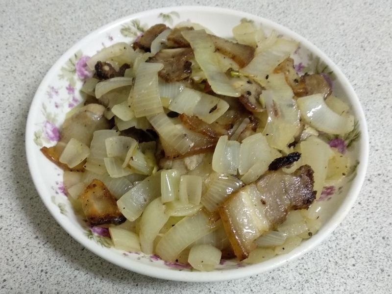 洋蔥鹹豬肉