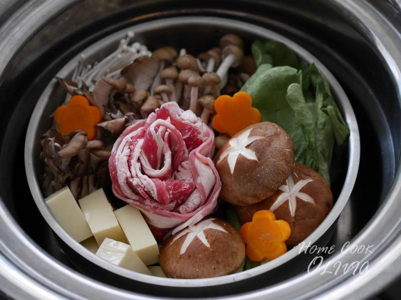 牛肉壽喜燒♡電鍋小廚娘