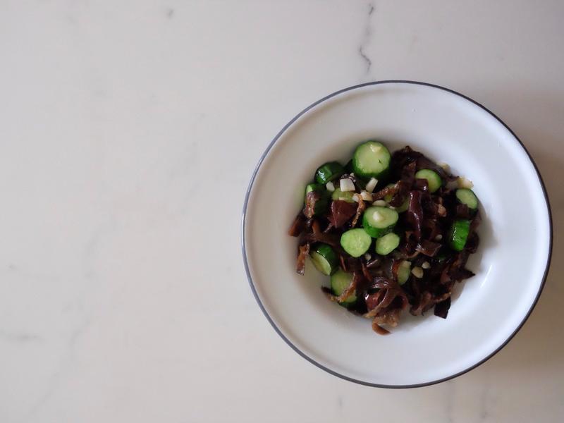 常備菜#7 - 小黃瓜黑木耳