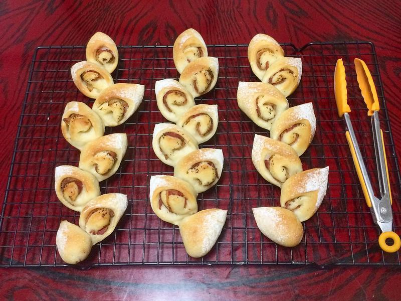 培根麥穗麵包