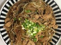 炒豬肉綠豆芽