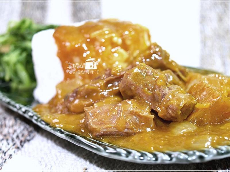 南瓜咖哩牛肉