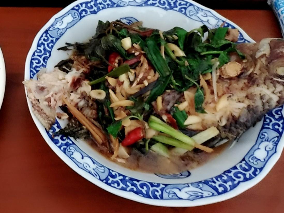 紅燒水煮吳郭魚