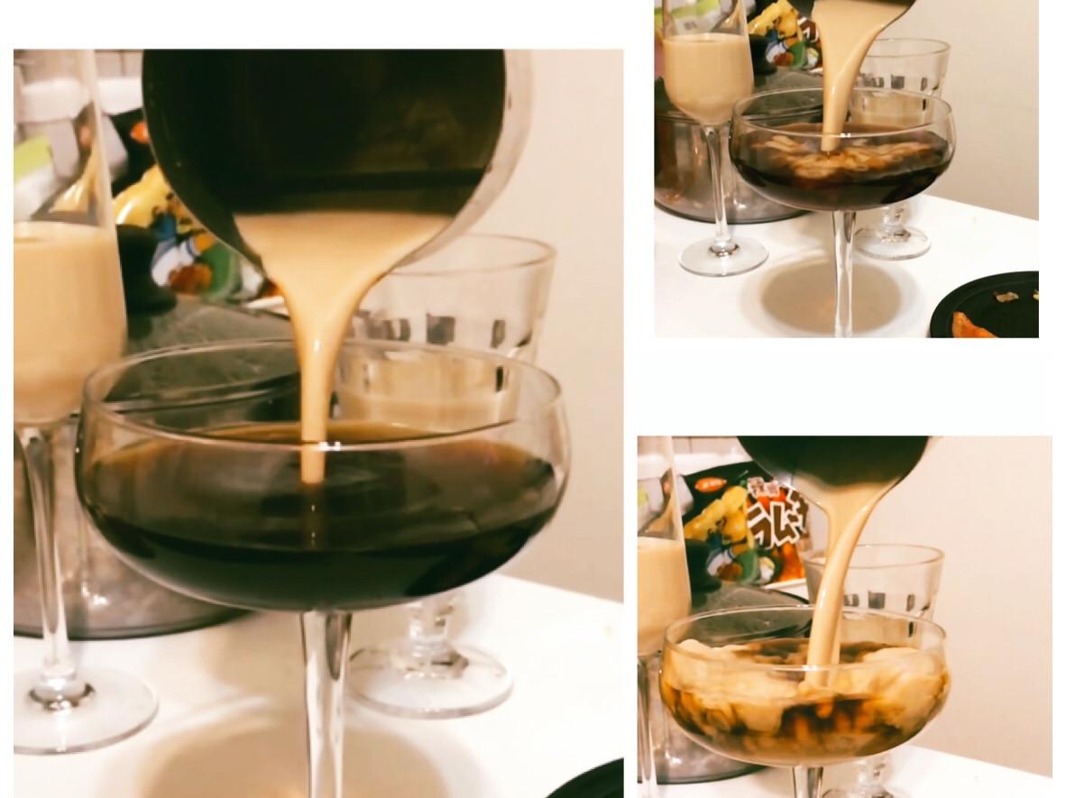 簡單調酒-貝禮詩拿鐵