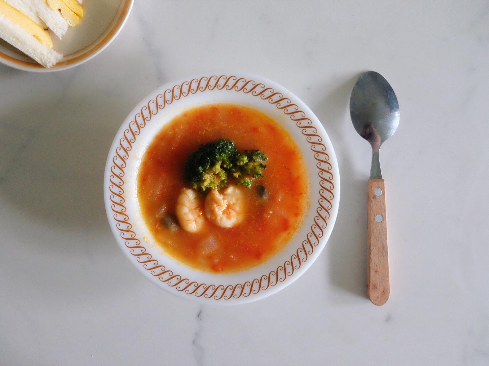 營養素早午餐 - 番茄湯