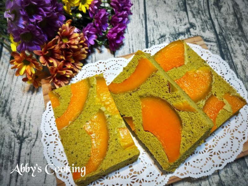 南瓜抹茶蛋糕