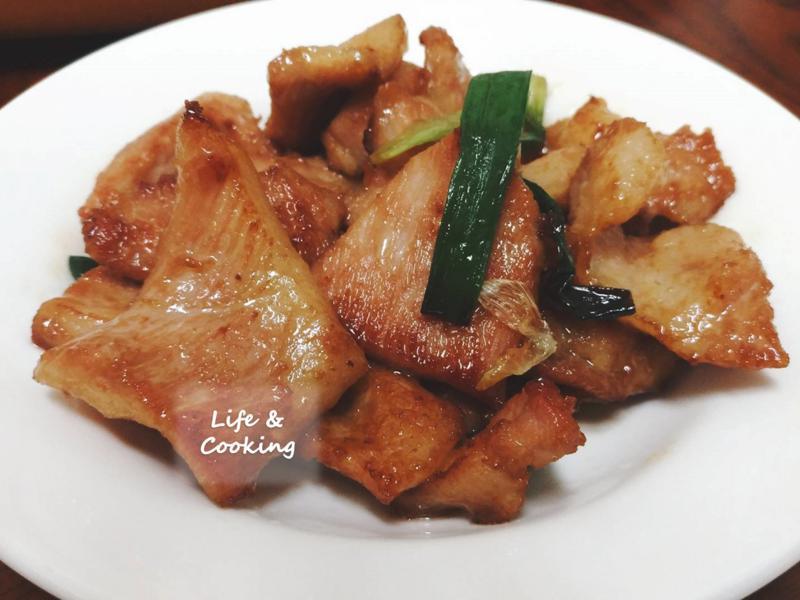 【家常菜】蔥爆豬肉