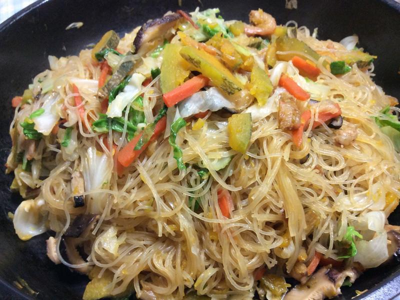 lanni 南瓜燜炒米粉