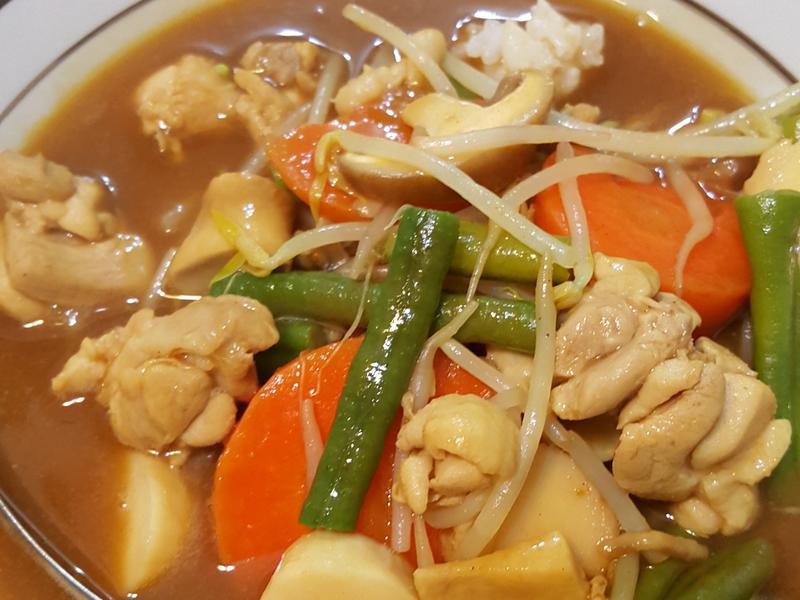 咖喱雞燴飯