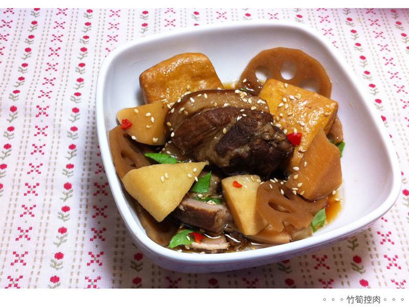 白飯殺手-竹筍控肉