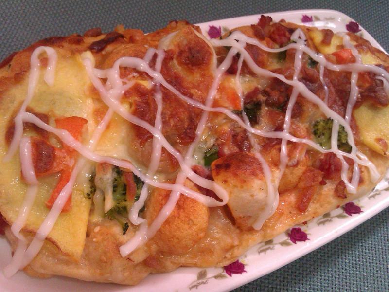 桂冠火鍋料披薩