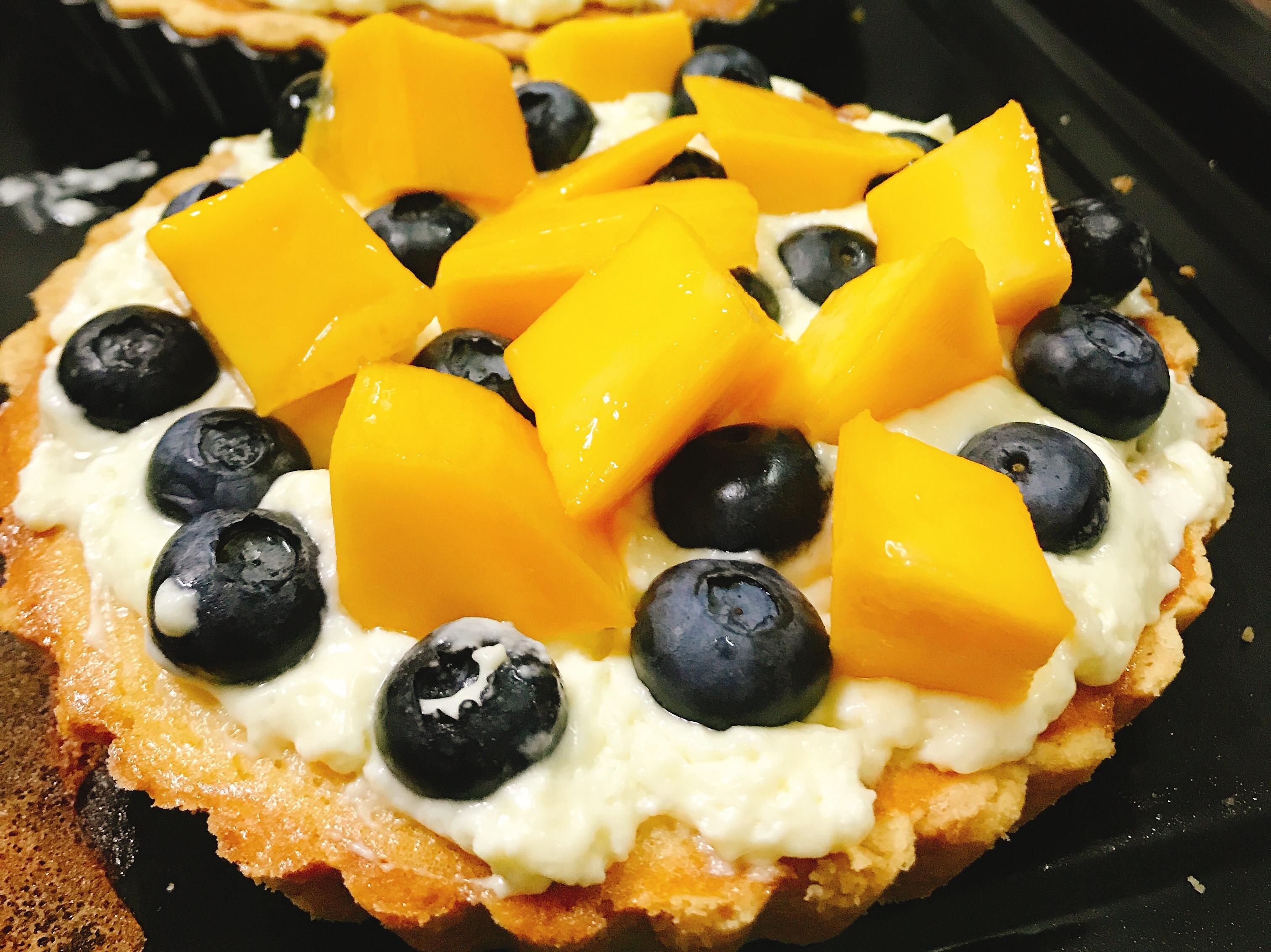 芒果藍莓乳酪塔