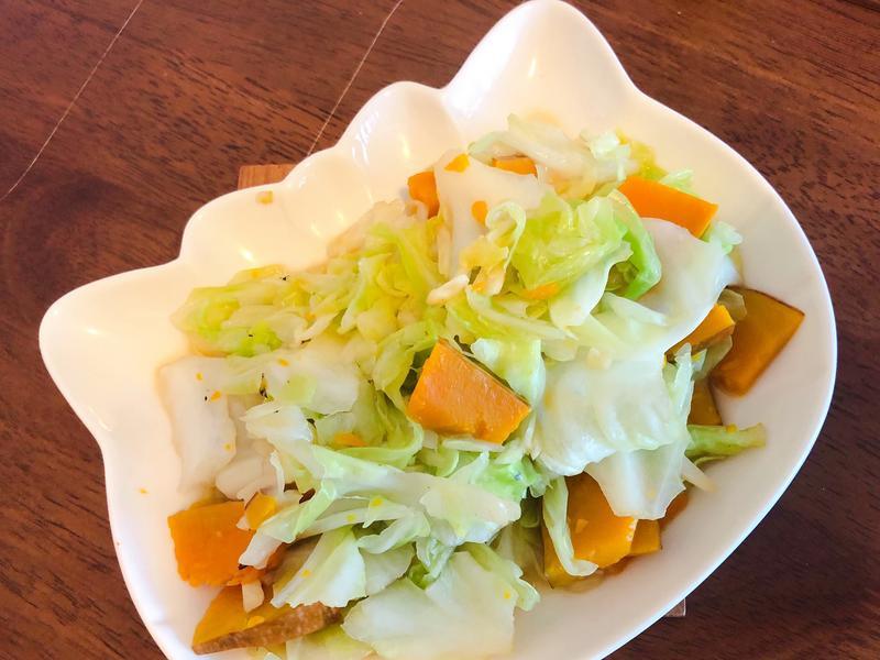 南瓜🎃高麗菜