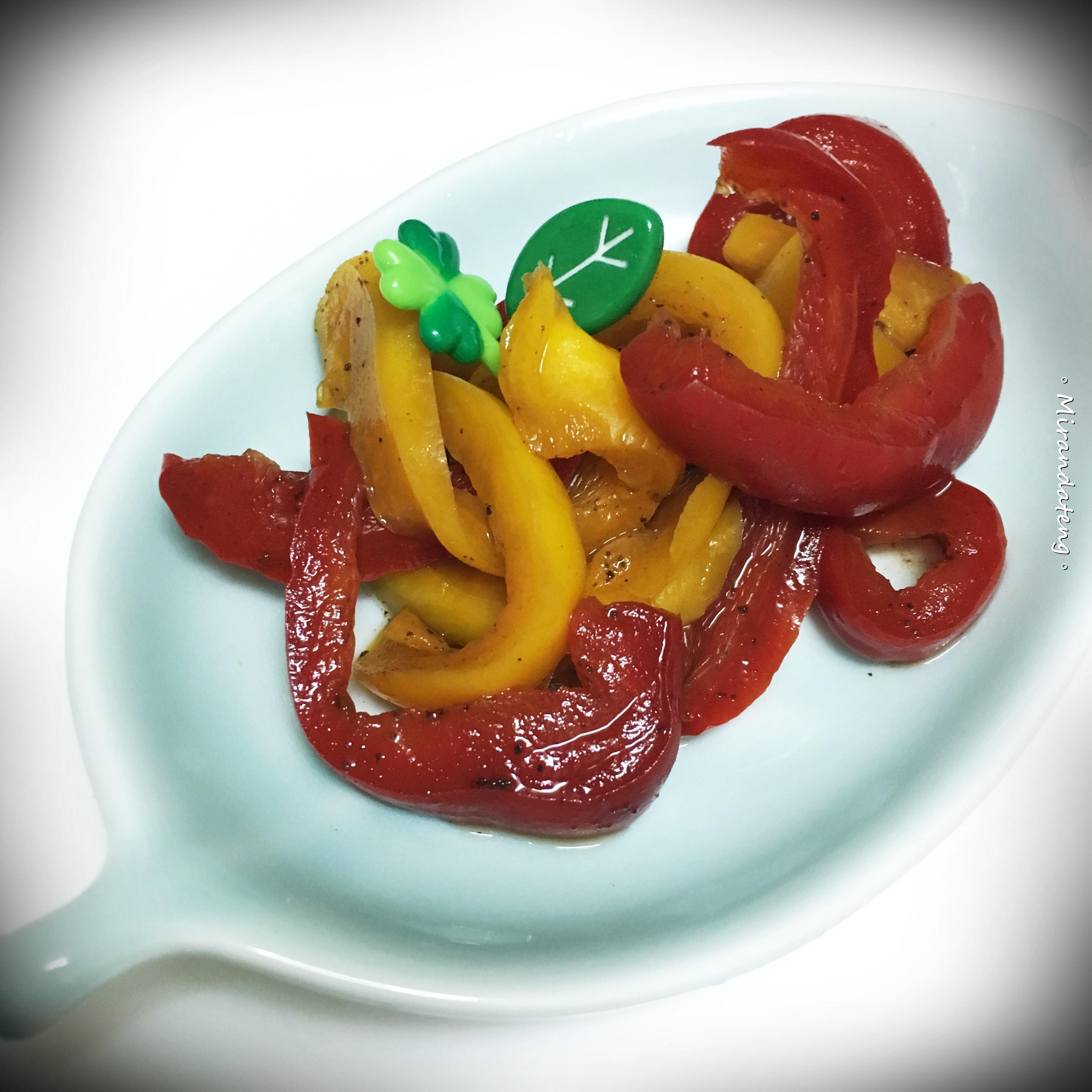 梅漬甜椒(涼拌菜)