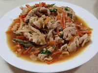 醬燒鮮蔬豬肉