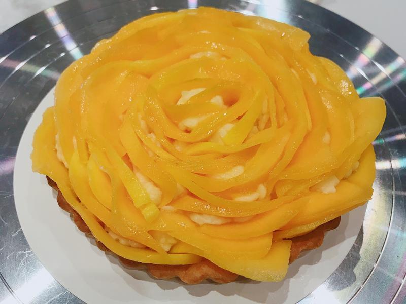 芒果奶油派