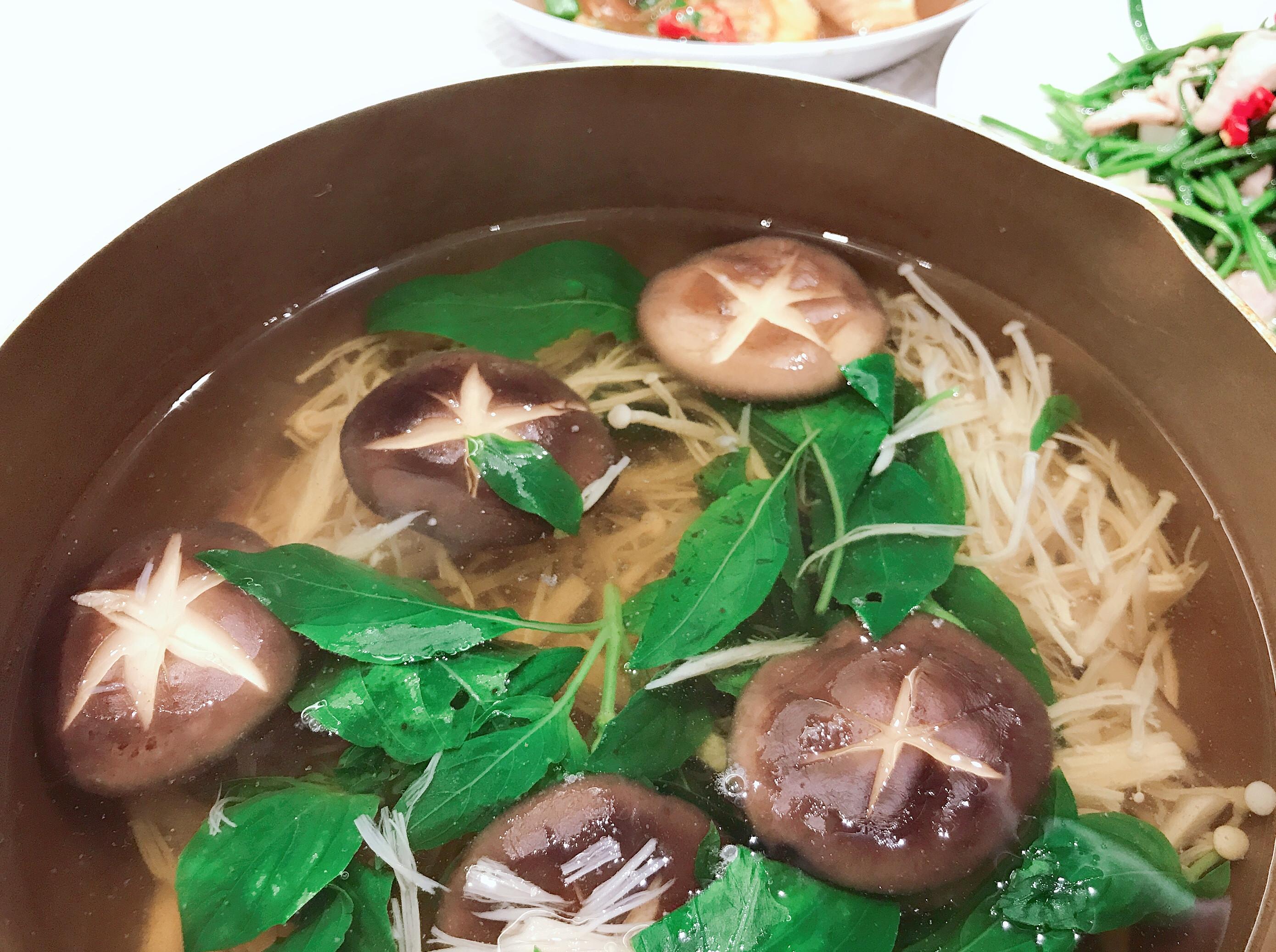鰹魚鮮菇湯