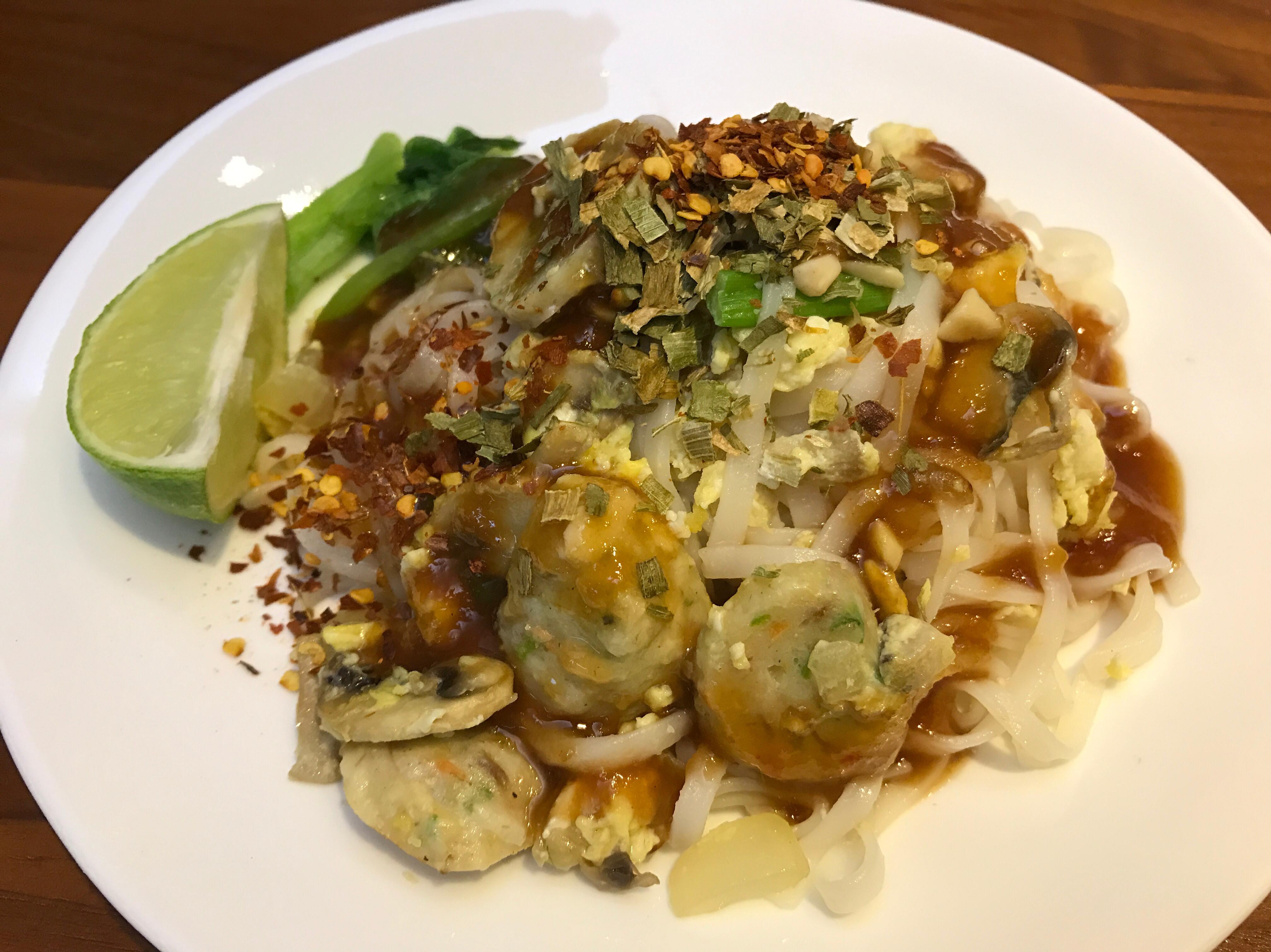 泰式炒麵 phad thai