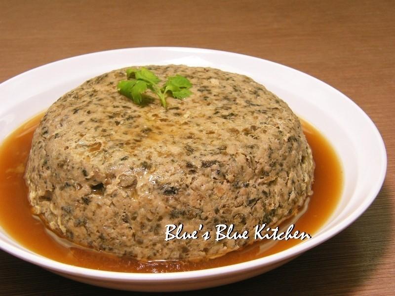 梅干菜蒸肉