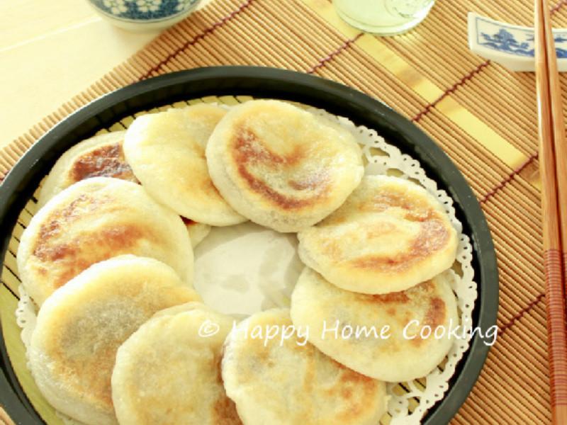 豆沙燒餅 ~ 柔糯香甜!