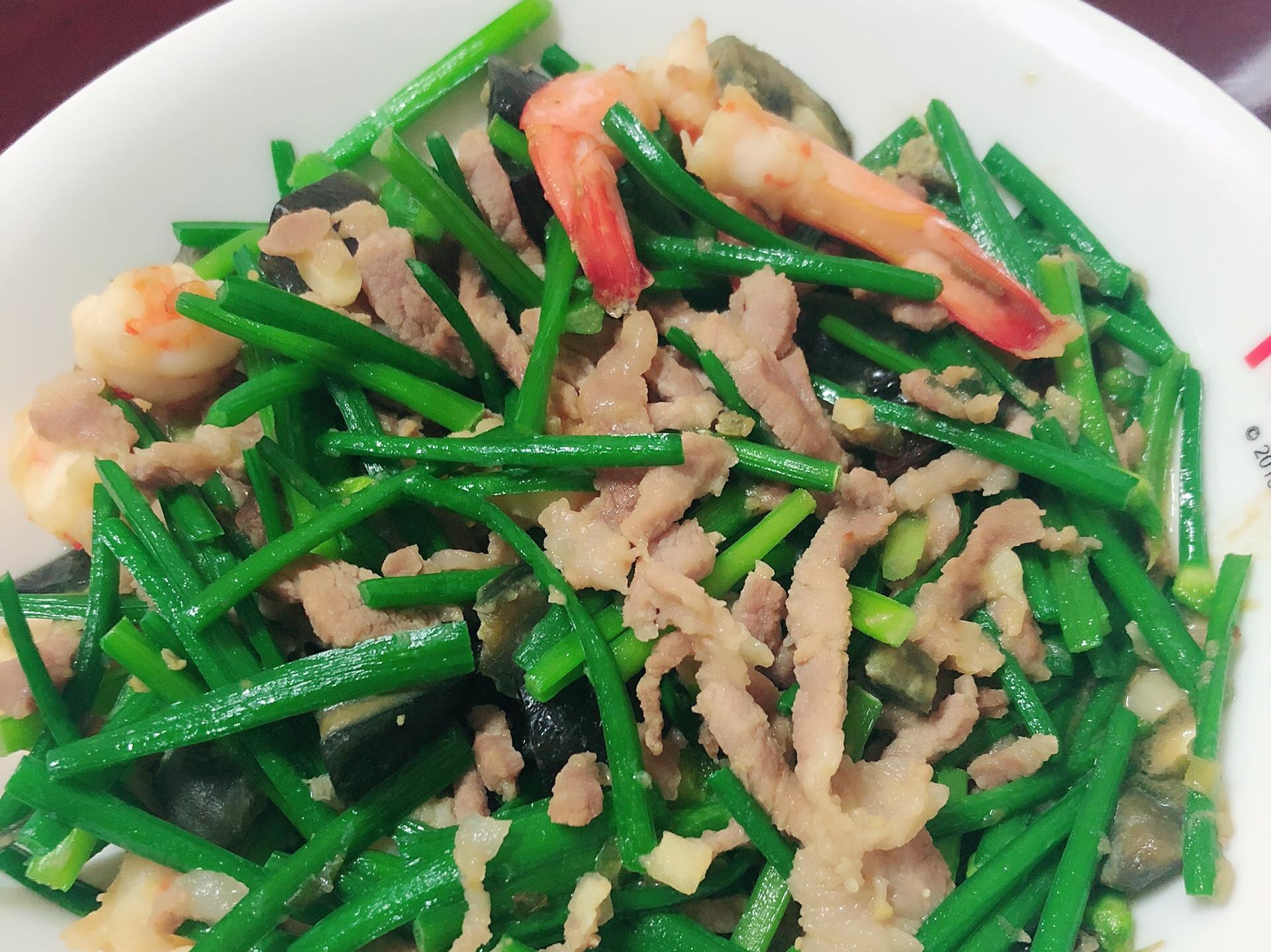 超豐盛之韭菜花海陸大餐