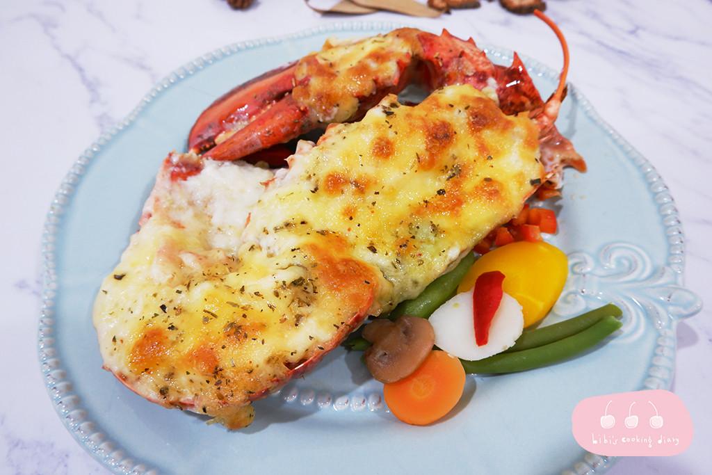 【西式】焗烤奶油白醬波士頓龍蝦