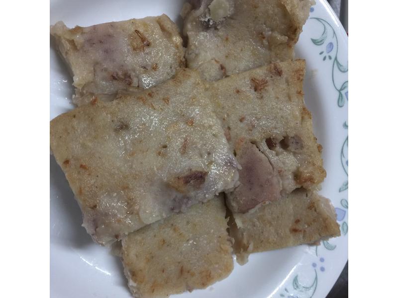 糙米芋頭粿