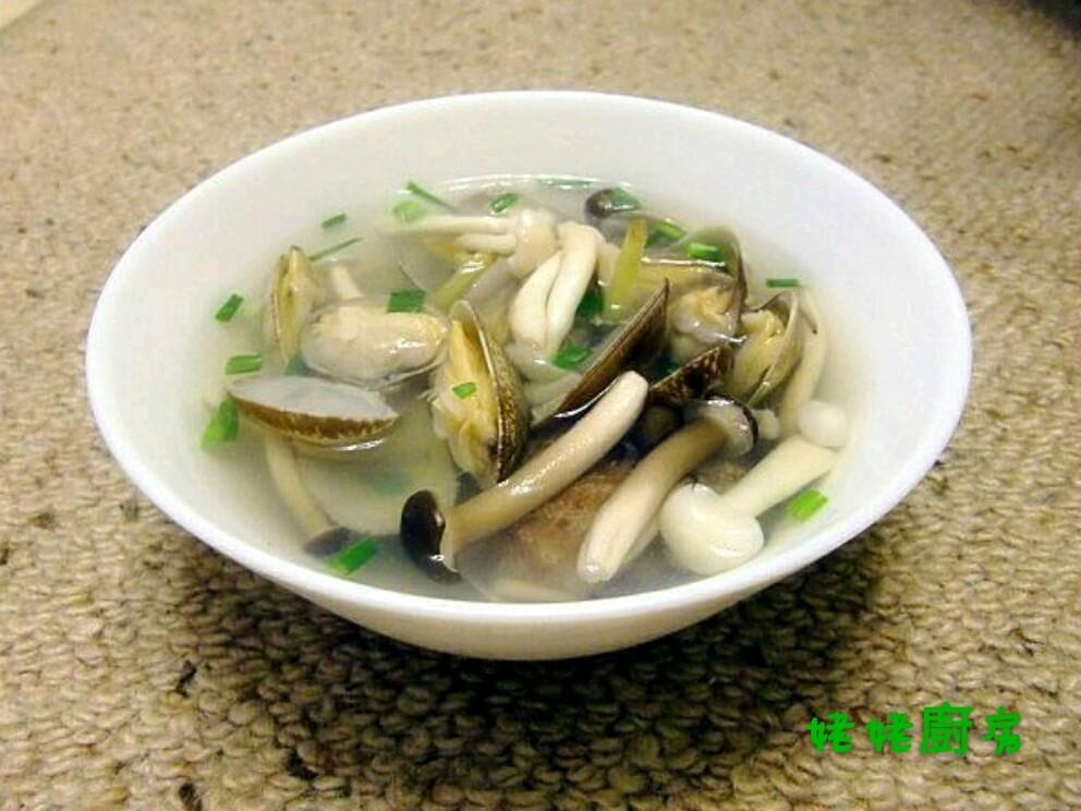 菇菇蛤蜊湯