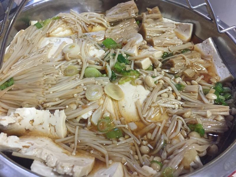 低油豆腐蒸菇