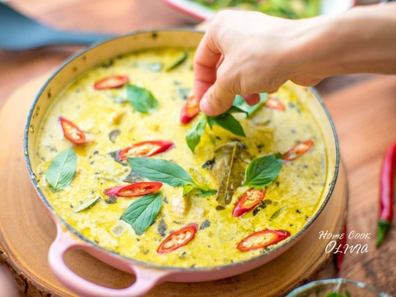 泰式綠咖哩雞♡摩堤小廚娘