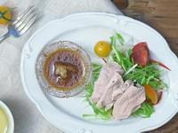 夏天清爽吃-冷涮豬肉沙拉(冷しゃぶ)