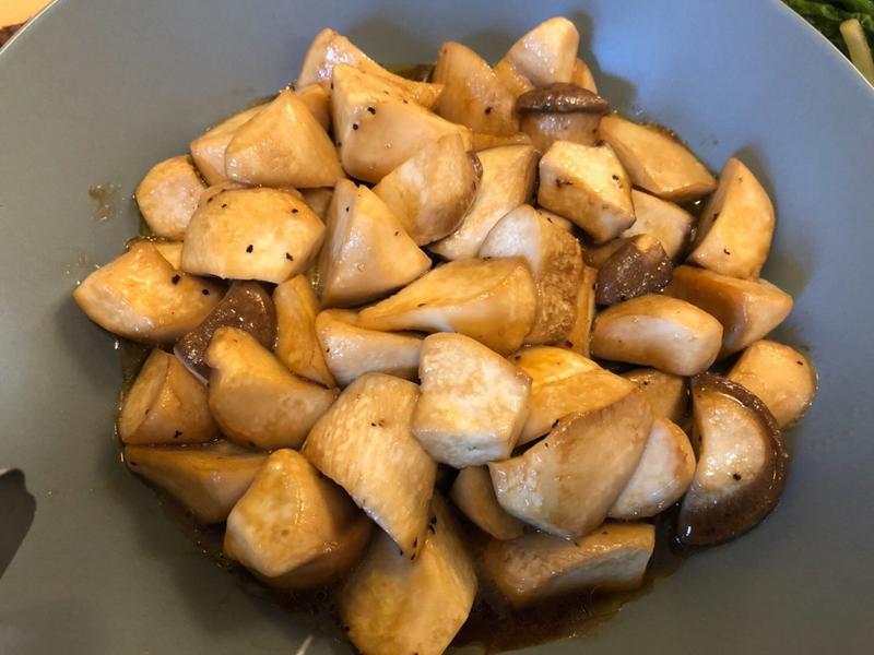 [生酮低醣餐]醬燒杏鮑菇(多汁入味)