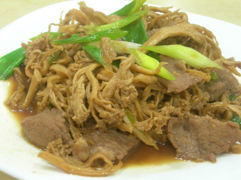 白花椰菜乾炒肉